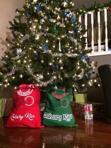 Personalized Santa Sacks! No more wrapping paper! Windsor Region Ontario image 1