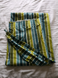 Curtains and tie backs