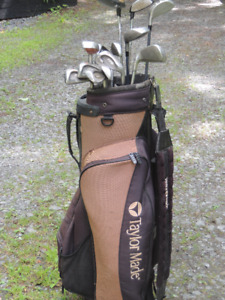 Taylor made golf bag and accessories
