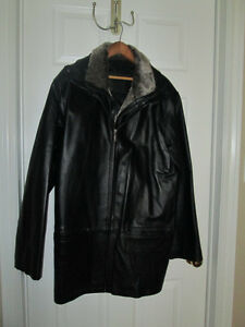 CHEROKEE Leather Jacket - Manteau en cuir