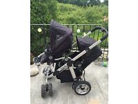 Icandy Pear with maxi cosi adaptors and rain covers