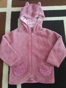 brand new kitty hoodie size 12-24m