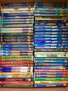Disney DVDs from pers .collection-like new-from 5 and up