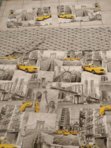NEW YORK THEMED DUVET SET & DECOR