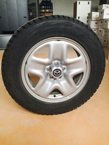 Bridgestone Blizzak DM-V1 Winter Tires London Ontario image 1