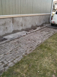 PARGING OLD CRUMBLING CONCRETE WALLS FAST & ECONOMICAL
