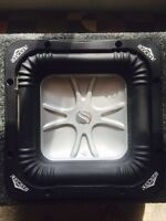 """8"""" Kicker L5 Subwoofer with BoX"""