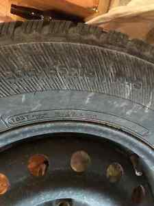 Winter tires and rims! Kingston Kingston Area image 3