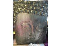 Buddha wall canvas thing FREE