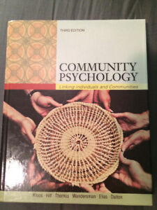 Community Psychology: Linking Individuals and Communities-3rd Ed