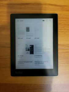Kobo Aura Excellent Condition with Kobo case