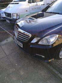 Mercedes E250 CDI Sport BlueEfficiency AMG body