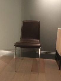 Italian Designer Dinning Chairs x 4