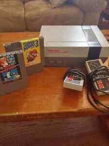 Nintendo NES with Super Mario Bros