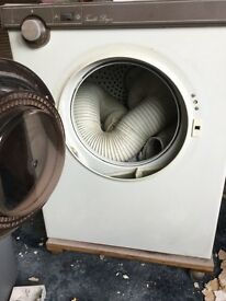 Tumble dryer vented