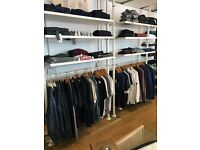 Menswear clothing business and website for sale in Weymouth dorset. Skate shop men's fashion