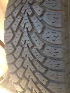 Set of 4 Goodyear Winter tires 225/60/16 call : (514)777-6421