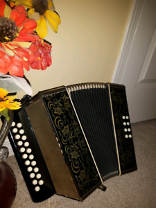 Strong sounds German accordion