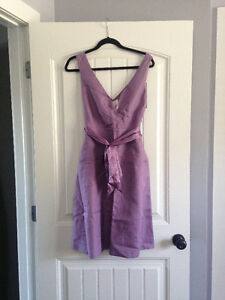 Bridesmaid dress, new with tags, lilac purple