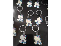 Wholesale job lot of 47 new Hello Kitty Keyrings