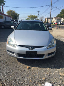 2003 Honda Accord EX Coupe (2 door)