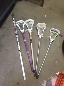 Lacrosse sticks / ringette stick $10-$50 OBO