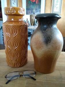 vase et cache pot varié MCM / W. Germany / vintage / 10 $ et +