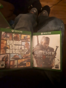 Xbox one  games 10$