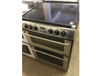 NEW World Double Oven Stainless Steel Electric Cooker