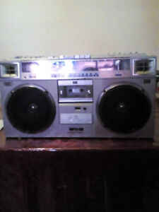 Victor JVC stereo Radio Cassette Recorder- used