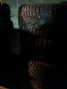 4x 225/65R17 Toyo like new Observe G3-Ice winter  pneus d'hiver