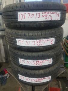 4 Used 175-70-13 Westlake Radial RP-18 All Season Tires