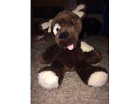 Build a bear dog teddy