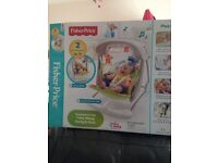 Fisher Price - swing & seat £45 only