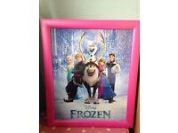 Frozen pic frame