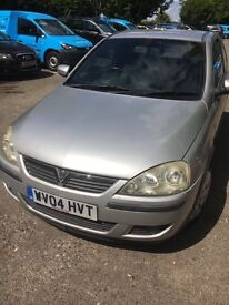 Vauxhall corsa very low milliage good condition long mot