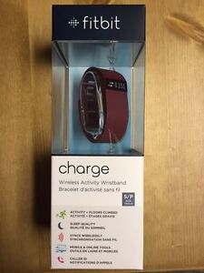 FitBit Charge. New in Box. Sealed