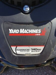 Yard machines 140cc lawnmower  Kitchener / Waterloo Kitchener Area image 3