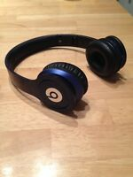 Navy blue beats by dr dre
