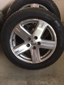 Winter tires and rims Pirelli 235/55 R19 Dodge Journey London Ontario image 1