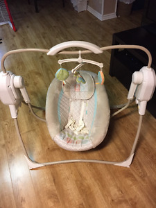 Space Saver Baby Swing