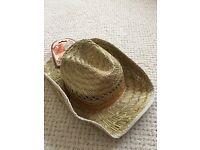 Fancy dress cowboy cowgirl hat