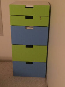 Storage combination with drawers
