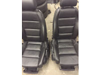 Audi A4 s line seats ideal for transit
