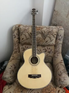 Acoustic/Electric Bass: $100 obo.. WANT IT GONE ASAP!!