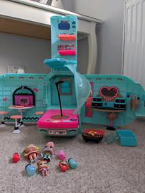 Lol campervan with dolls