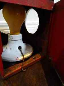 1920s railway signal STORM LANTERN British BTS shabby MANTIQUES Cambridge Kitchener Area image 8