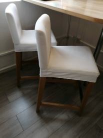 2 Chairs Pub Bar Height Stools