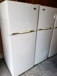 """24"""" fridges with 1 year full warranty parts and labour"""