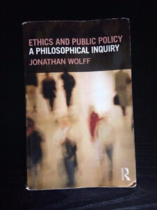 Ethics and Public Inquiry: Wolff